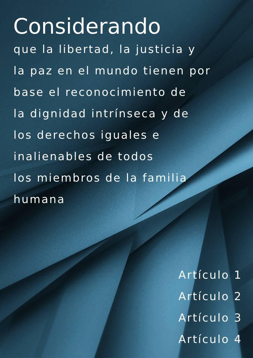 Spanish handbook example