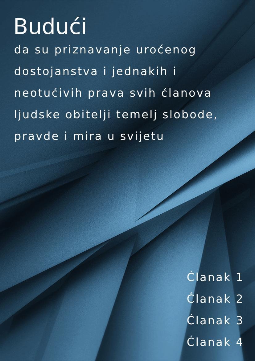 Croatian handbook example