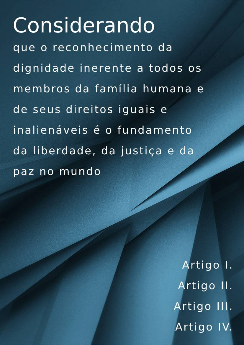 Brazilian Portuguese handbook example