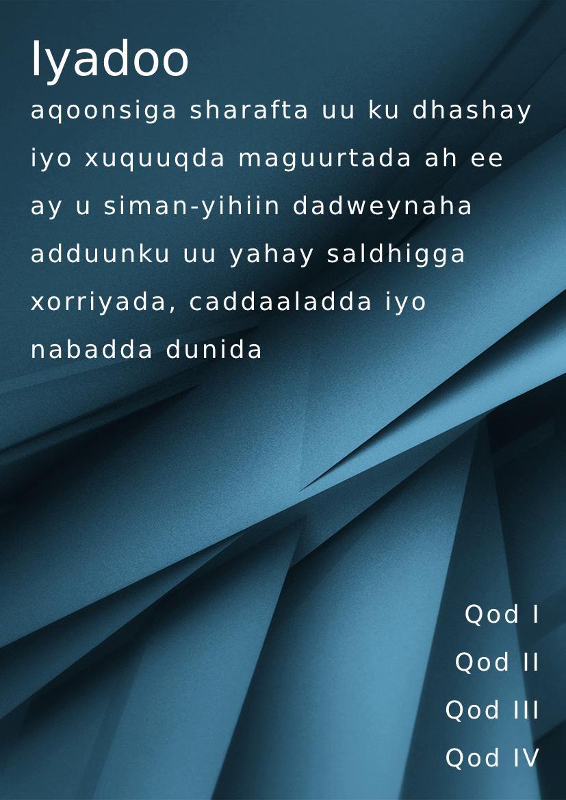 Somali handbook example